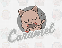 Caramel - sticker set for free messenger apps and more