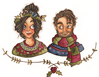 Winter Watercolors