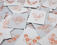 Hexagon Animal Post Cards