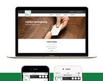 Simplistic Website Design - Static