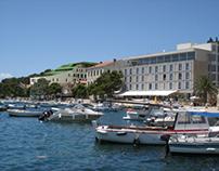 Hotel Delfin, Hvar, 2007