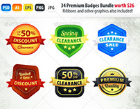E-commerce Badges Bundle
