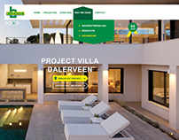 Webdesign for construction company