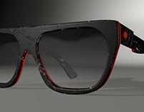 Fractured sunglasses concept