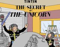 Tintin: The CG of the Unicorn
