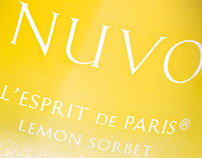 Nuvo Sparkling Licor, designed by Linea