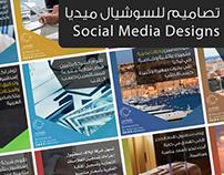 Arabic Social Media Designs