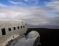 Iceland 2013 : Stranded (DC-3 Crash Site)
