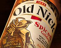 Rhum Old Nick - Spiced Golden, Bardinet