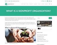 Blog Single Post Page - Nonprofit WordPress Theme
