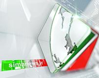 IRIB NEWS 1 / 2014  /  Logo motion
