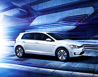 VW e-Golf Campaign and Catalogue Look and Shooting