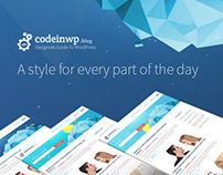 CodeInWp Blog Redesign - www.codeinwp.com/blog/