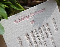 百年好合婚礼喜帖