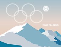 Digital Illustration | Olympics, Thank you, Sochi.