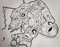 Illustrations - Random Giant Robots 01
