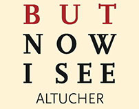 James Altucher: I Was Blind But Now I See [Book Design]