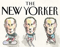 The New Yorker cover designs