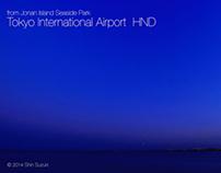 Timelapse - Tokyo International Airport /Haneda HND