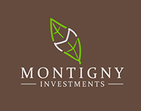 Montigny Investment brand development and materials
