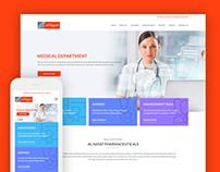 Al Hayat Website Design
