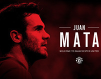 WELCOME MATA TO MANCHESTER UNITED