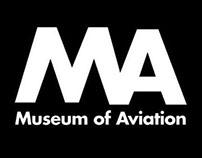 MA (Museum of Aviation) Logo