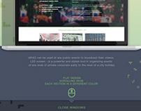 GRAD website Landing Page .