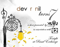 Designs for designer duo 'dev r nil'