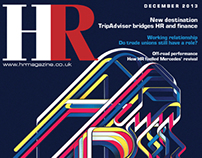 HR magazine, design and art direction