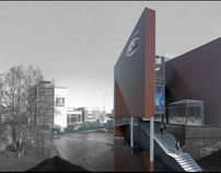 Imax Cinema and Media Centre 2nd yr Part 1 - Nottingham