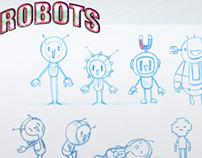 Cute Robots sketches