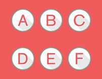 Free font vector