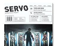 SERVO Magazine Redesign