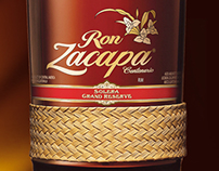 Ron Zacapa, designed by Linea