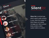 Silent List V2