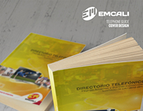 EMCALI / Telephone Directory  Cover Design