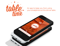 Table Time App Design