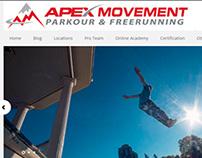 APEX Movement Website Design