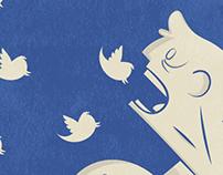 Social Media Addiction Poster