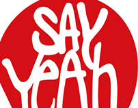 say yeah logo restyling