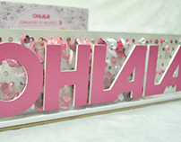 Diseño de stand, revista Ohlala!