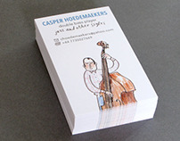 business card Double Bass Player