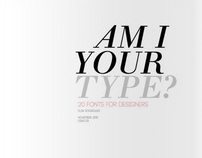 Typographic Catalog
