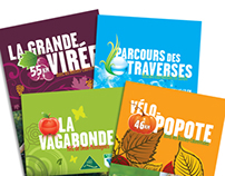 Dépliants Vélo Tourisme Basses-Laurentides