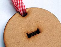 BWD Christmas card design