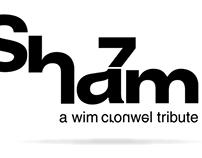 Shazam - a wim crouwel tribute