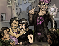 Queer Force Five Cover Art