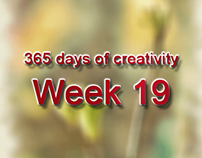 365 days of creativity/art - Week 19