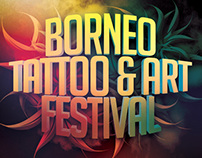 Tattoo And Art Festival Flyer